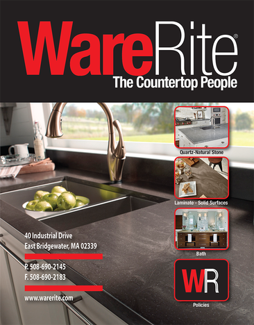 WareRite catalog, Countertop catalog, countertop distributor, kitchen distributor, countertop manufacturer, wholesale countertops, quartz countertops, laminate countertops, custom countertops, warerite
